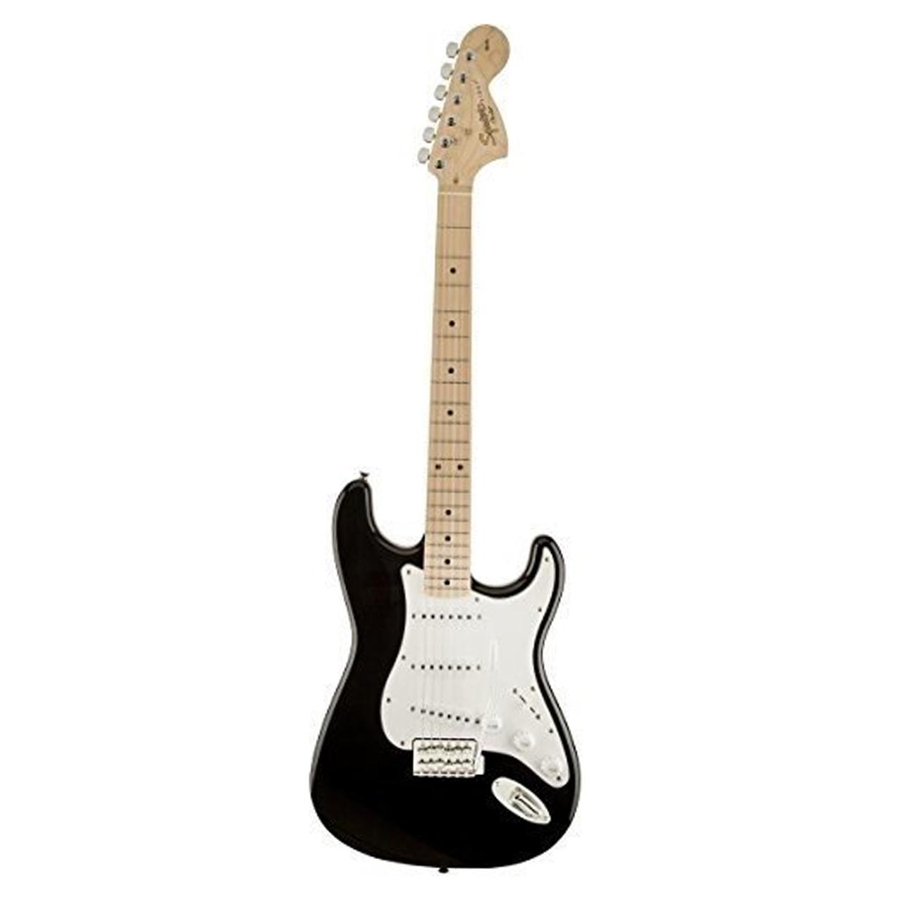 گیتار الکتریک فندر مدل SQ Strat MN Black main 1 3