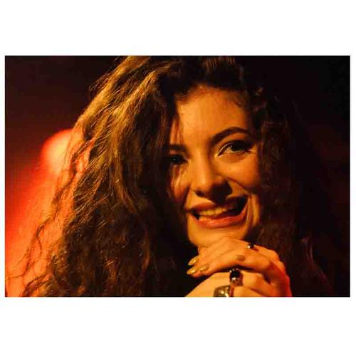 تابلو شاسی طرح بزرگان موسیقی مدل Lorde کد A375