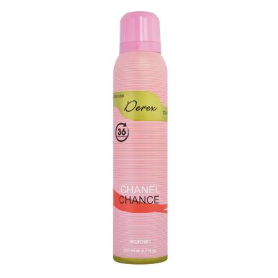 اسپری خوشبو کننده بدن زنانه دریکس مدل Chanel Chance حجم 200 میلی لیتر مجموعه ۳ عددی
