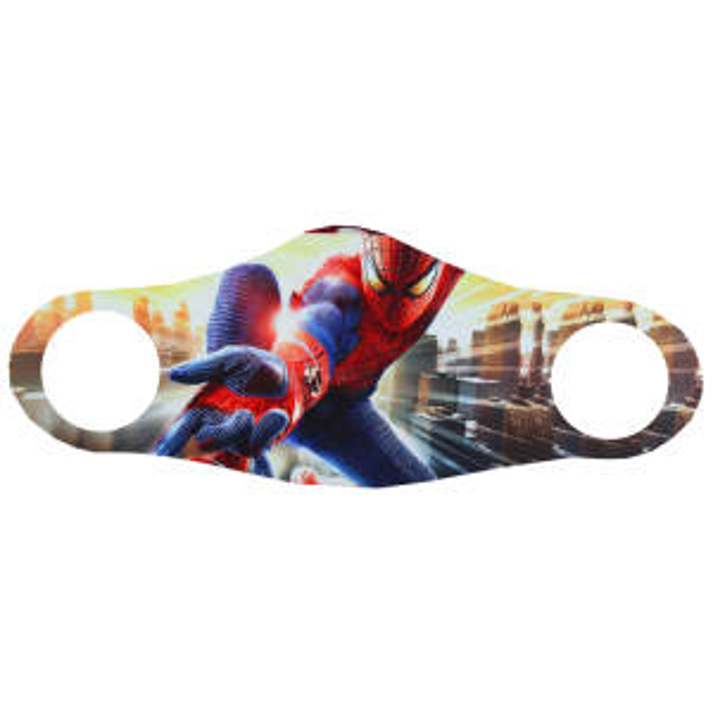 ماسک تزیینی صورت طرح مرد عنکبوتی
