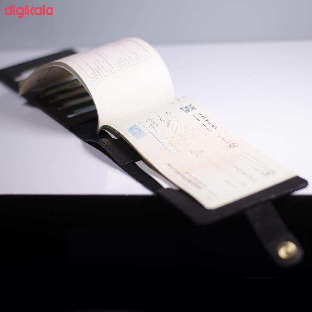 کیف دسته چک مردانه چرما اسپرت کد DD001 main 1 4