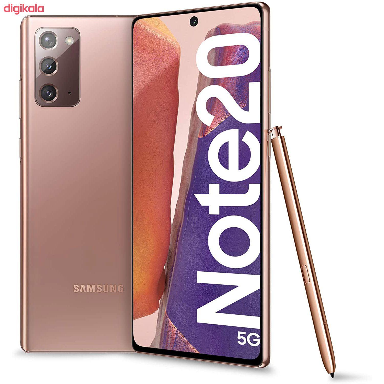 گوشی موبایل سامسونگ مدل Galaxy Note20 5G SM-N981B/DS دو سیم کارت ظرفیت 256 گیگابایت main 1 2