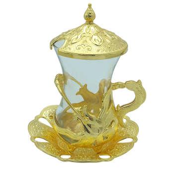 سرویس چای خوری 12 پارچه زارا مدل سوسن