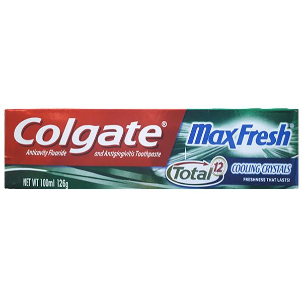 خمیر دندان کلگیت مدل Max Fresh Total حجم 100 میلی لیتر