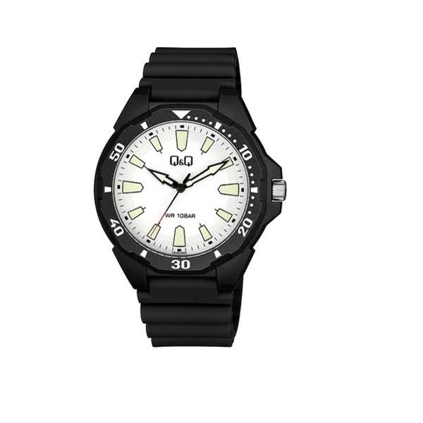 ساعت مچی عقربه ای پسرانه کیو اند کیو مدل VS44J002Y