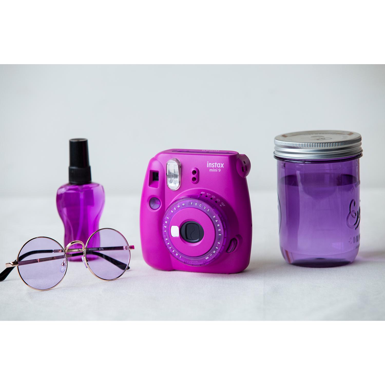 دوربین عکاسی چاپ سریع فوجی فیلم مدل Instax Mini 9 Clear main 1 42