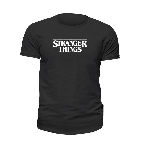 تیشرت آستین کوتاه مردانه مدل stranger things کد 016