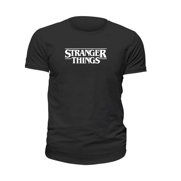 تی شرت آستین کوتاه زنانه مدل استرنجر ثینگز کد 016