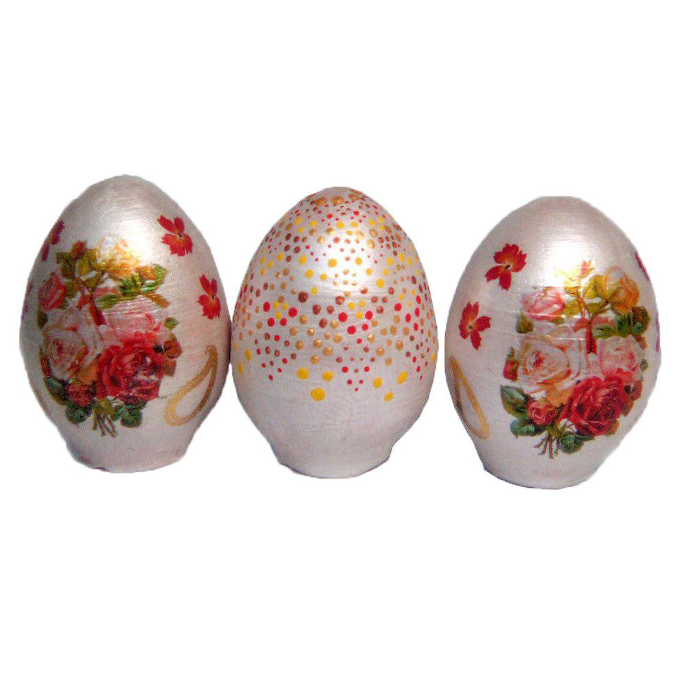 تخم مرغ تزیینی مدل گل