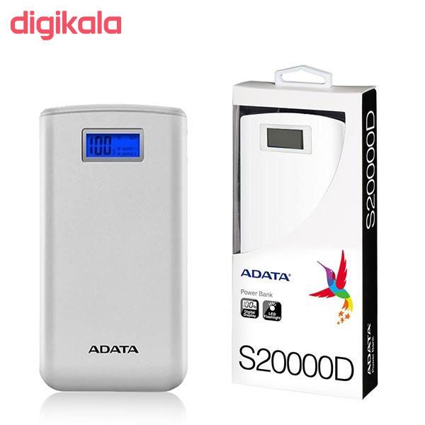 شارژر همراه ای دیتا مدل S20000D ظرفیت 20000 میلی آمپر ساعت  main 1 19