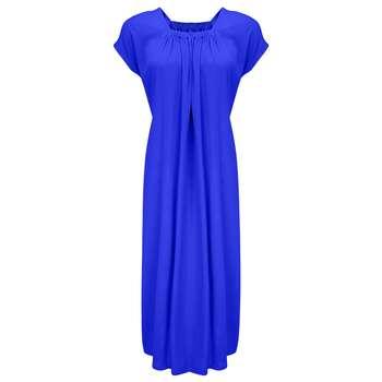 پیراهن زنانه مدل BR011رنگ آبی