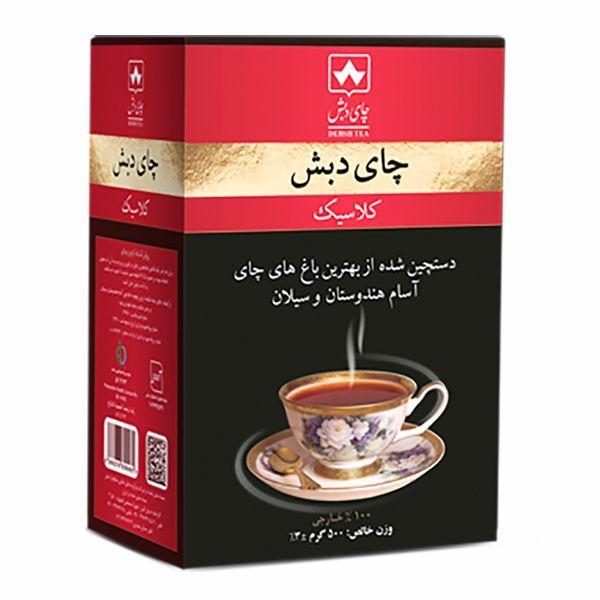 چای کلاسیک خارجی چای دبش - 500 گرم