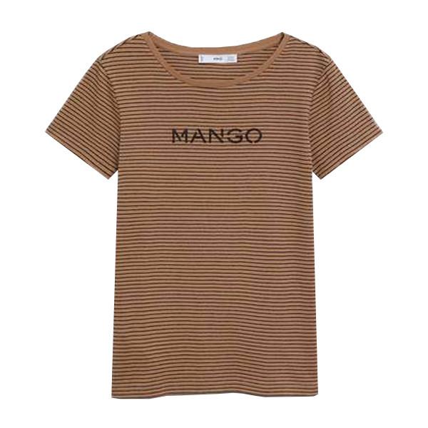 تی شرت آستین کوتاه زنانه مانگو مدل SS-368767