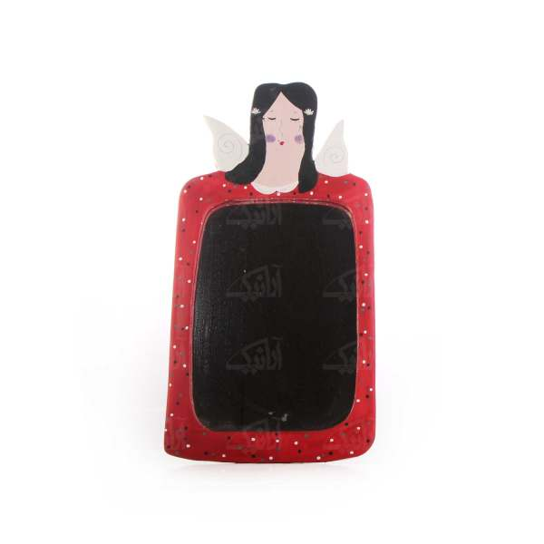 آینه چوبی آرانیک طرح فرشته کد 1509700010