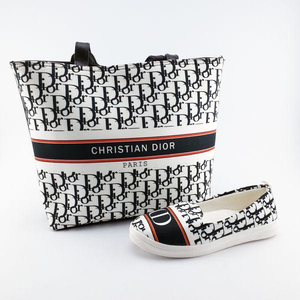 ست کیف و کفش زنانه مدل D-01 غیر اصل