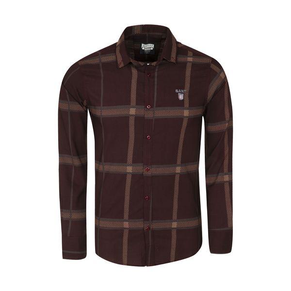 پیراهن آستین بلند مردانه مدل 344005918 غیر اصل