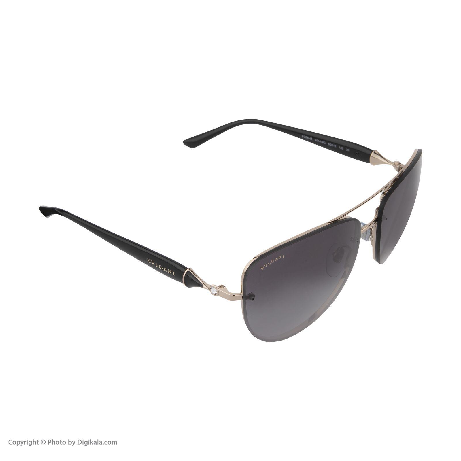 عینک آفتابی مردانه بولگاری مدل BV6086B 20148G -  - 4