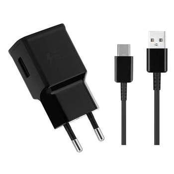 شارژر دیواری مدل EP-20 به همراه کابل تبدیل USB-C