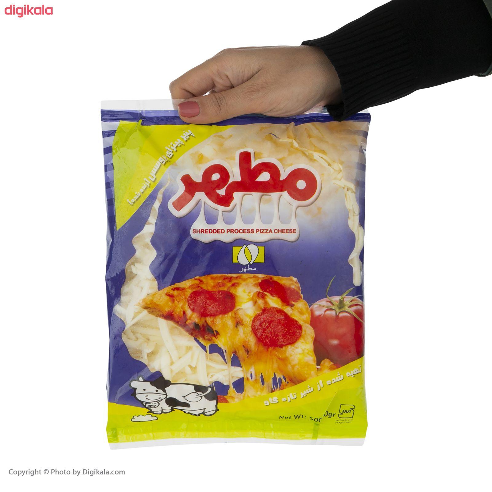 پنیر پیتزا مطهر - 500 گرم   main 1 3