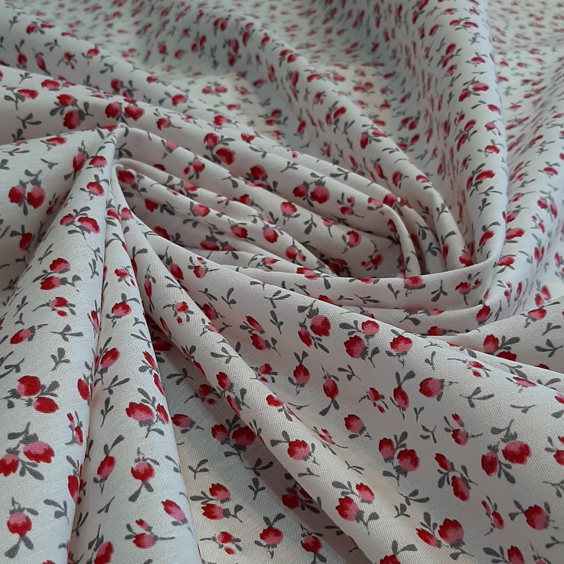 خرید                      پارچه چادری طرح گل مدل h016