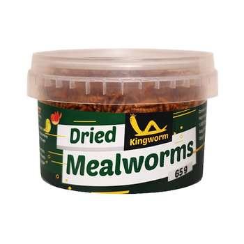 غذای خشک پرندگان کینگ ورم مدل meal worm MWB65 وزن 65 گرم