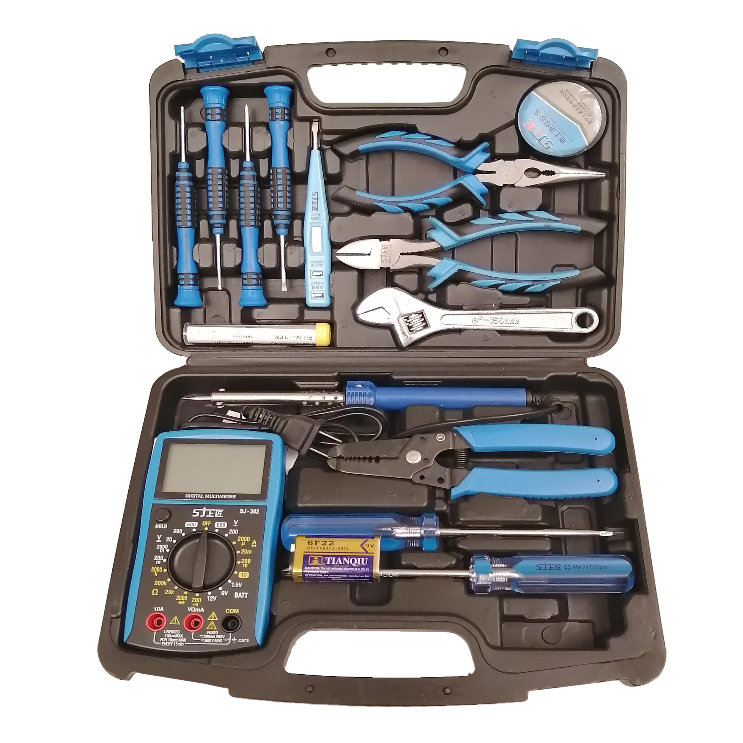 مجموعه 17 عددی ابزار مدل 1017