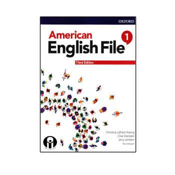 کتاب American English File 1 Third Edition اثر جمعی از نویسندگان انتشارات الوند پویان