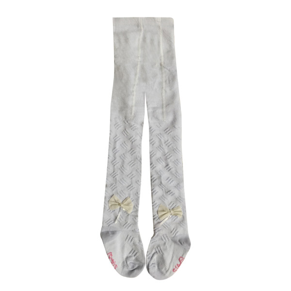 جوراب شلواری دخترانه مدل پاپیون