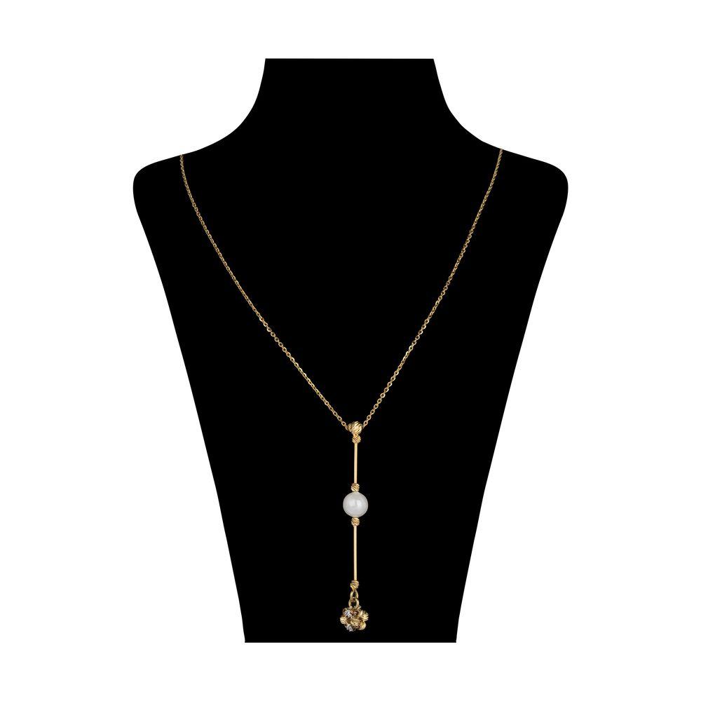 گردنبند طلا 18 عیار زنانه سیودو مدل 144604