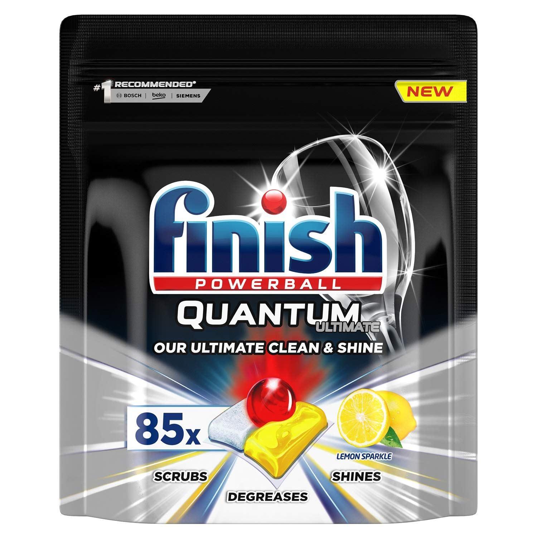 قرص ماشین ظرفشویی فینیش مدل Quantum Max Leamon بسته 85 عددی