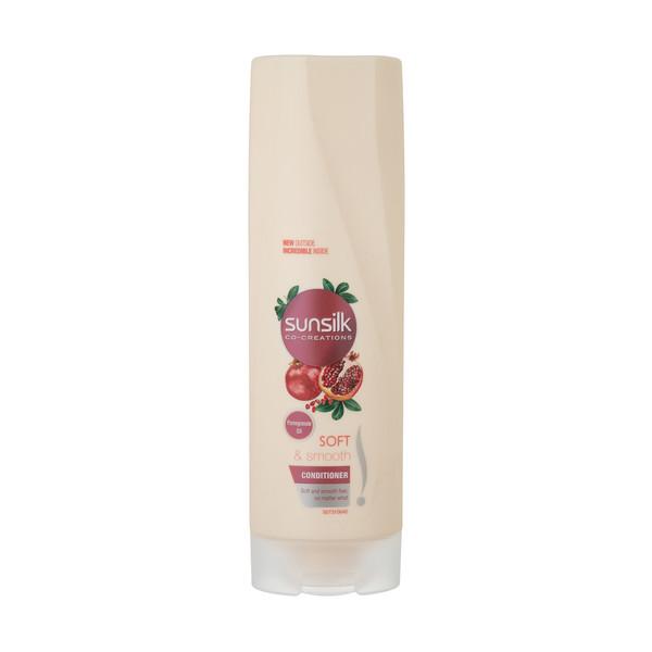 نرم کننده موهای خشک سانسیلک مدل Soft & Smooth حجم 350 میلی لیتر