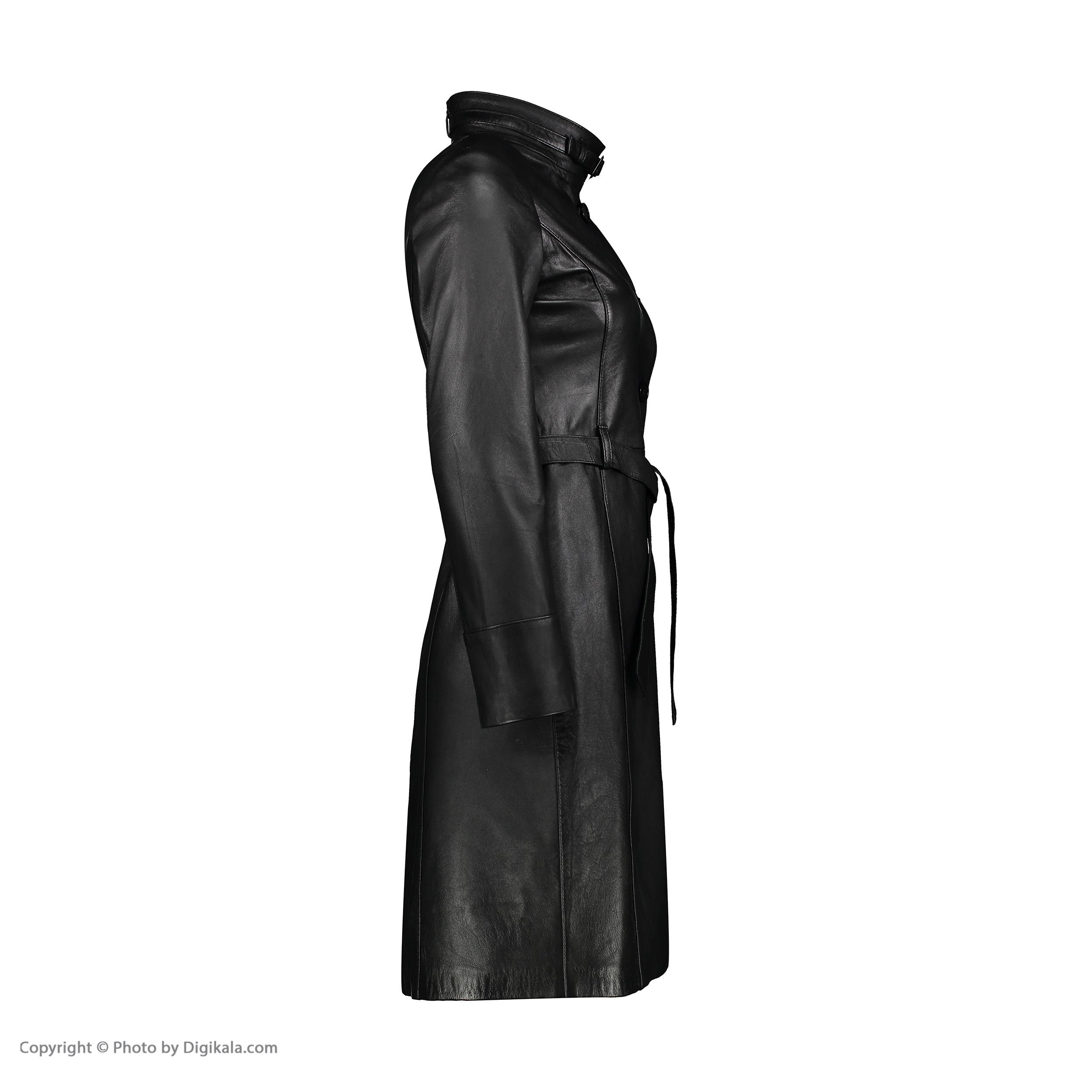 کت چرم زنانه شیفر مدل 2804-1