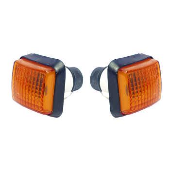 چراغ راهنما گلگیر خودرو آذرپارت کد 1228 مناسب برای پژو پارس بسته ۲ عددی