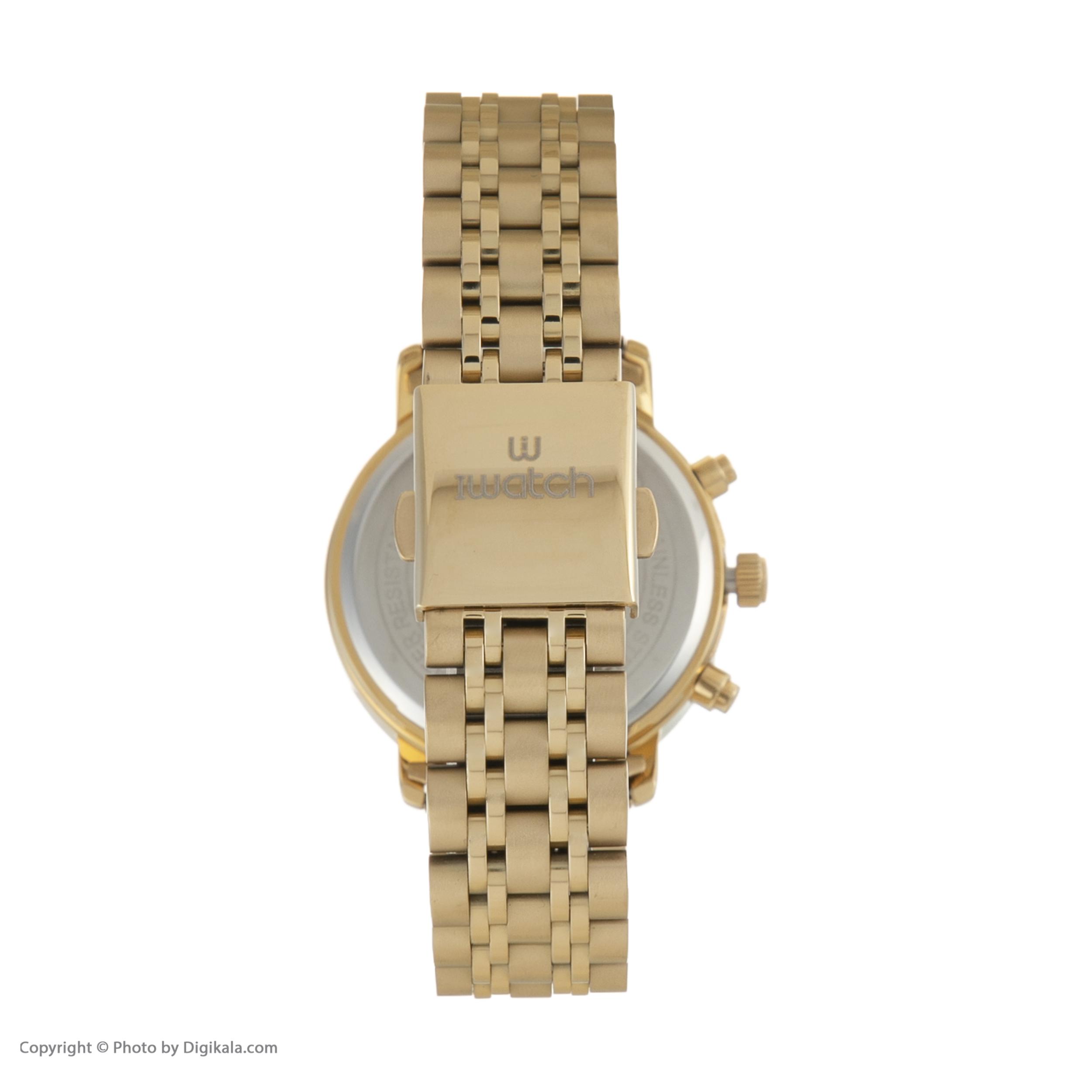ست ساعت مچی عقربه ای زنانه و مردانه آی واتچ مدل IW190053