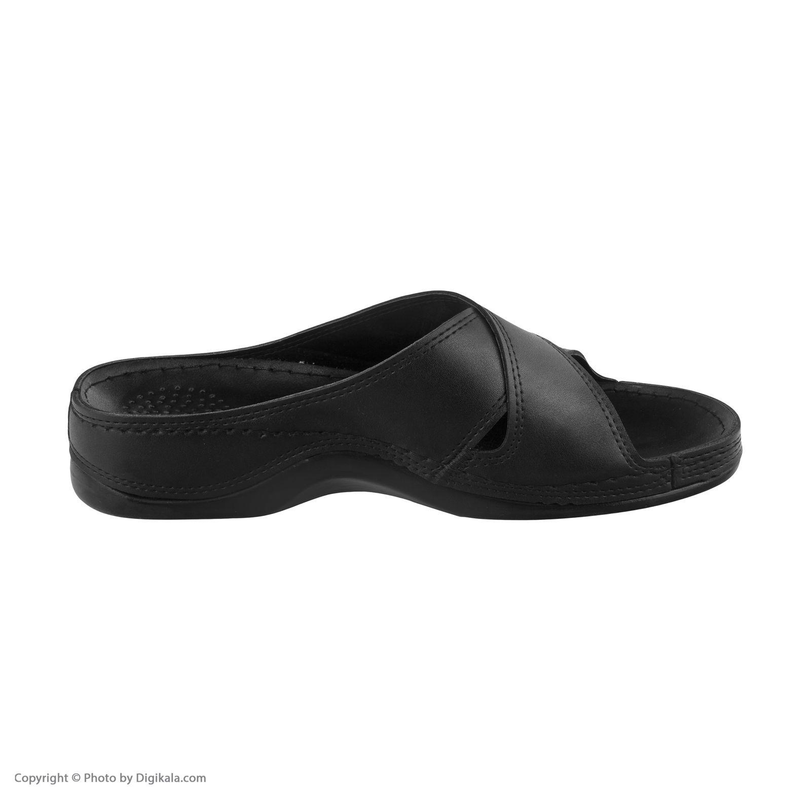 دمپایی زنانه کفش آویده کد av-0304501 رنگ مشکی -  - 6