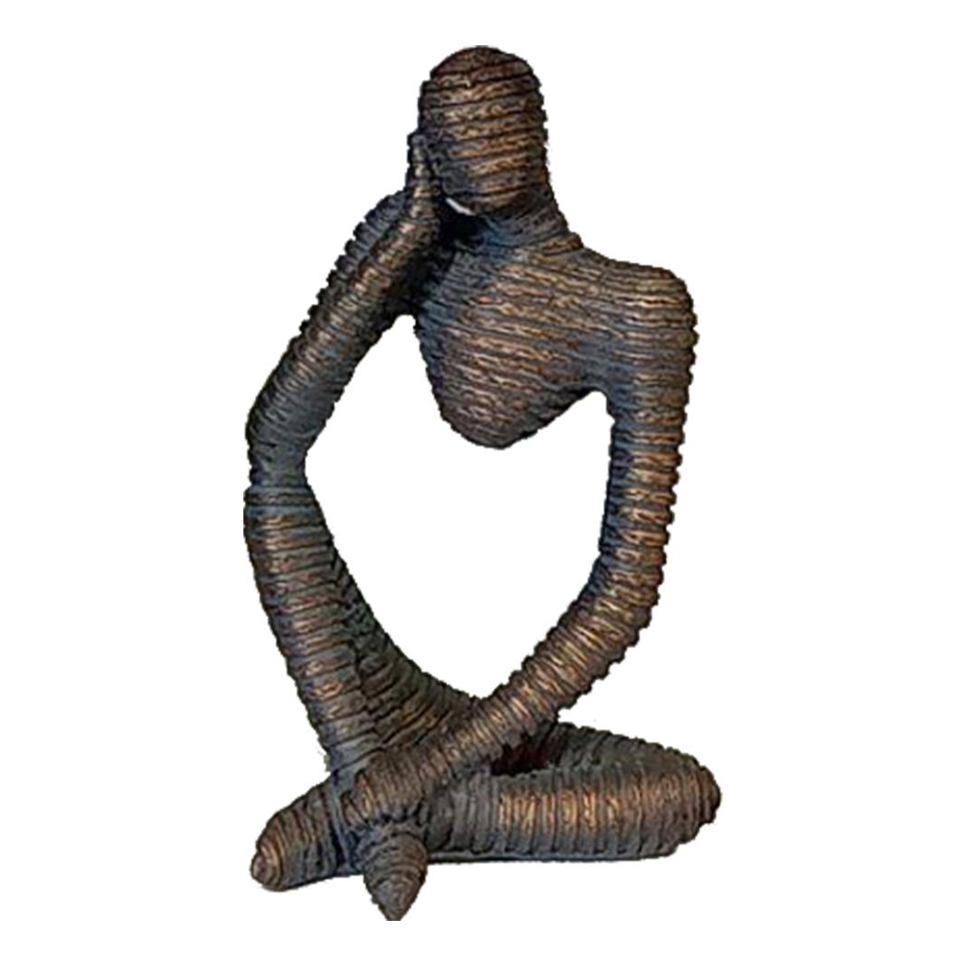 خرید                      مجسمه طرح مومیایی نشسته مدل Ogips