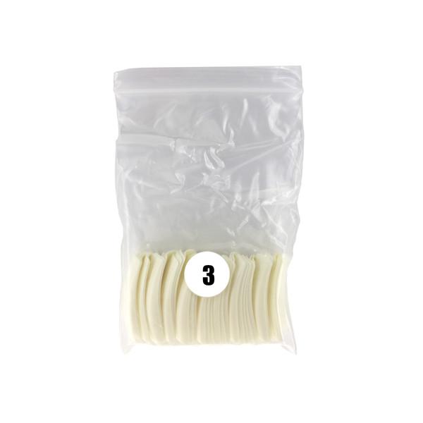 تیپ کاشت ناخن پرولایز شماره 3 - p80 بسته 50 عددی
