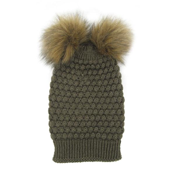 کلاه بافتنی مدل آناناسی کد J107