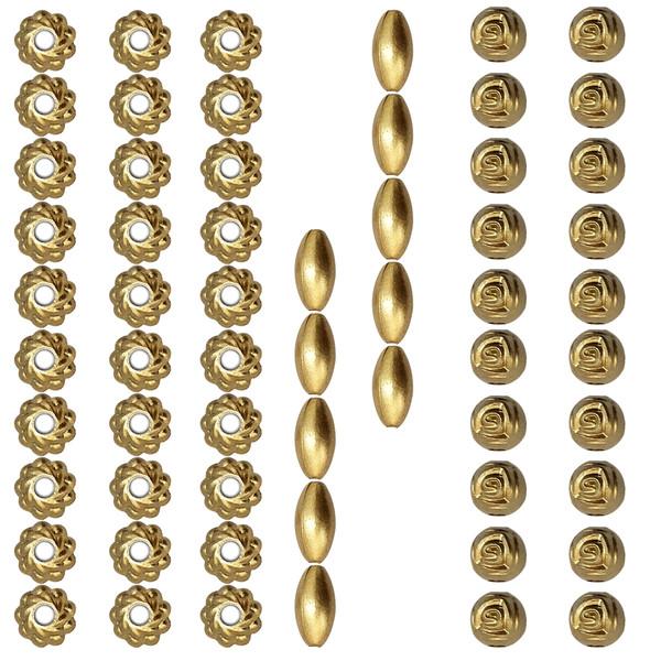 مهره دستبند مدل قاصدک کد 2 مجموعه 60 عددی