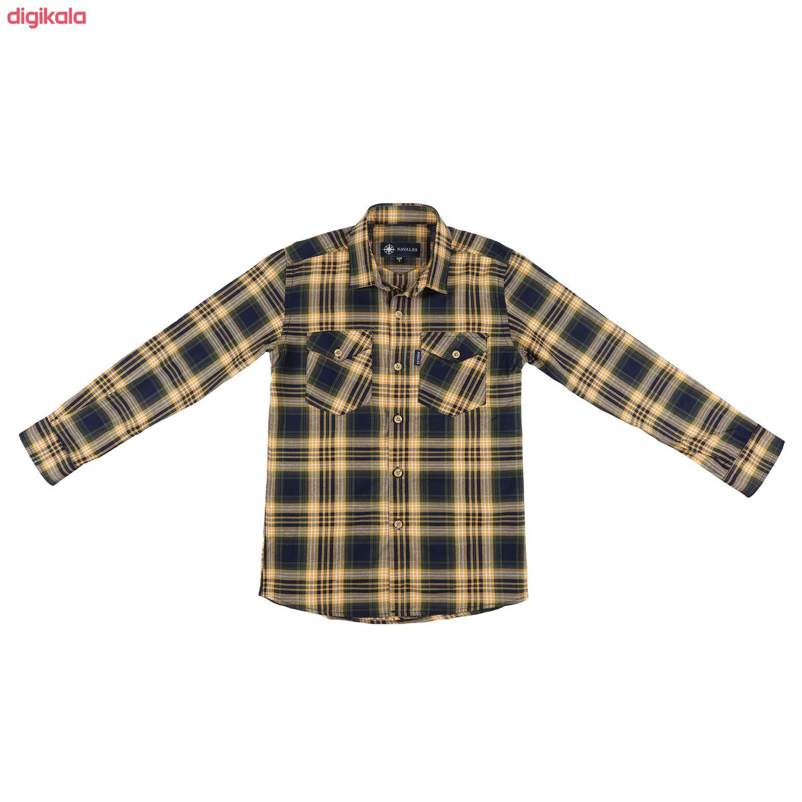 پیراهن پسرانه ناوالس کد R-20119-YL main 1 1