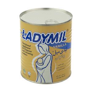 مکمل غذایی مادران باردار و شیرده لیدی میل با طعم وانیل - 400 گرم