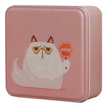 جعبه هدیه طرح گربه کد 2054