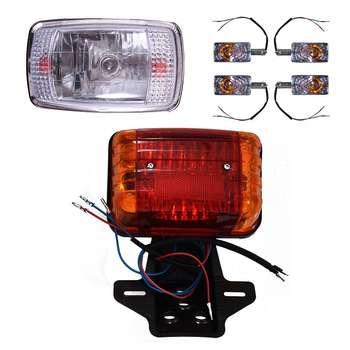 چراغ موتور سیکلت مدل هشت راهنما کد 150 مناسب برای هندا CDI مجموعه 6 عددی