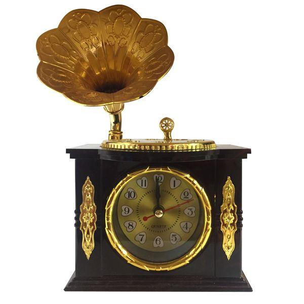ساعت رومیزی مدل گرامافون