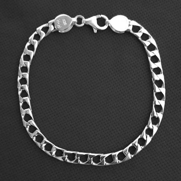 دستبند نقره مردانه کد HKAR77