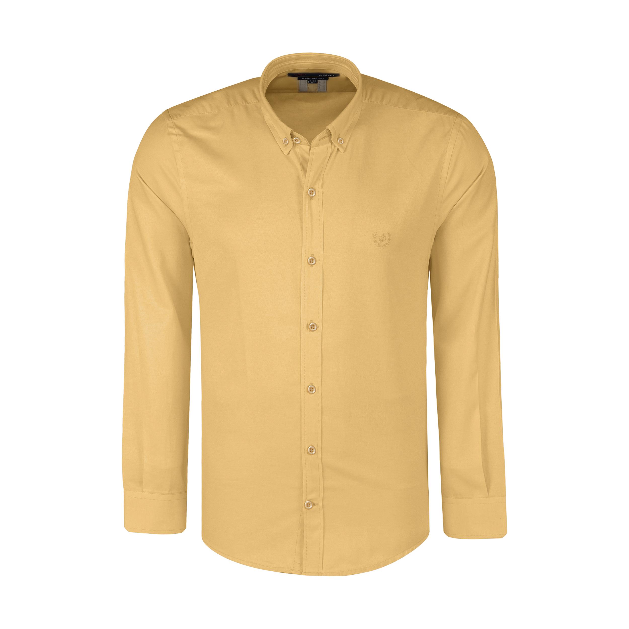 پیراهن آستین بلند مردانه پاتن جامه مدل 102821000091535
