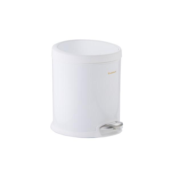 سطل زباله سام ست مدل V طرح  استوانه ای کد 45131 ظرفیت 5 لیتری