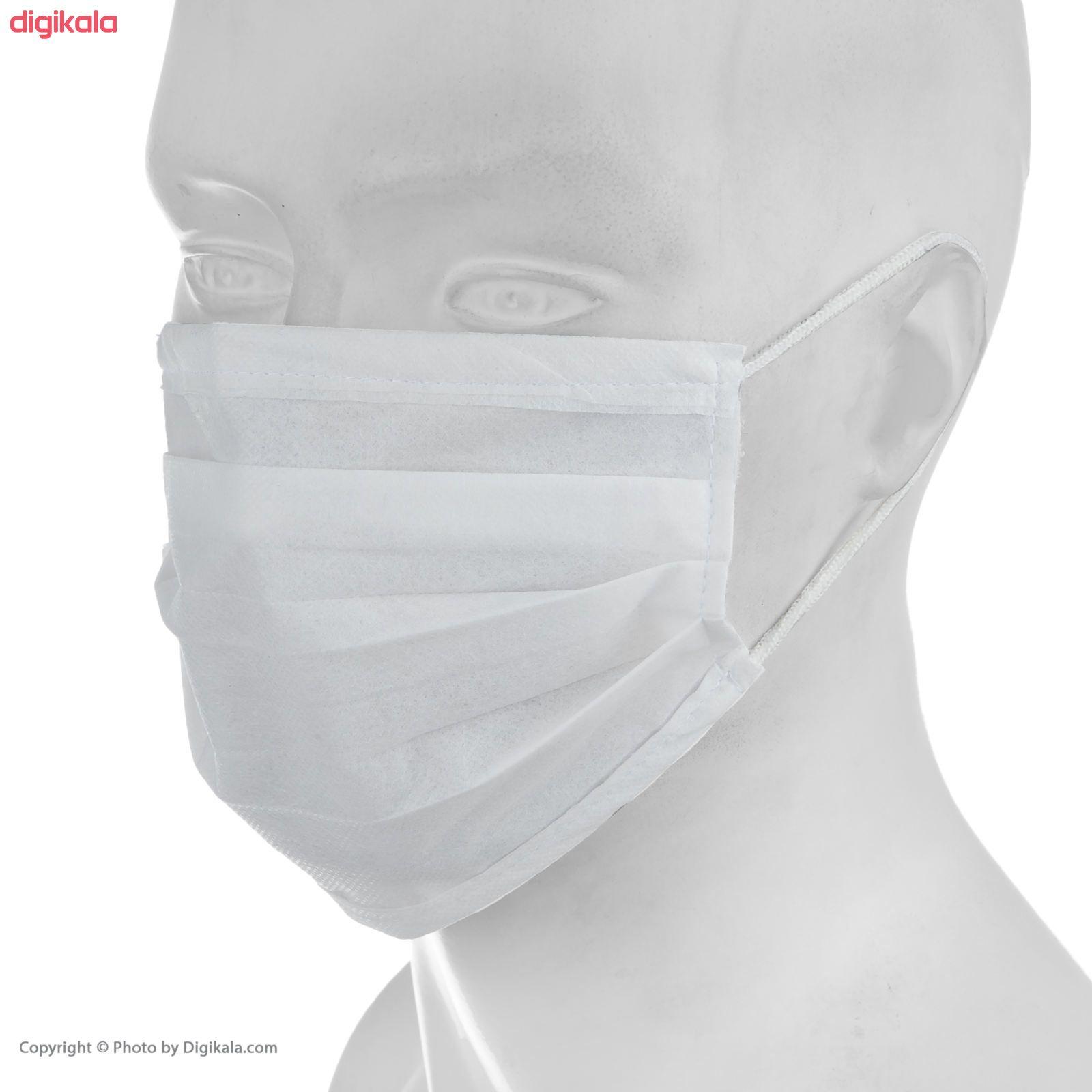 ماسک تنفسی مدل SB1 بسته 50 عددی main 1 2