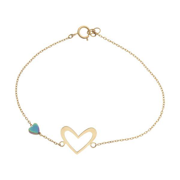 دستبند طلا 18 عیار زنانه نیوانی مدل DA2012