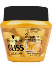 ماسک مو گلیس سری Hair Repair مدل Oil Nutritive حجم 300 میلی لیتر -  - 1